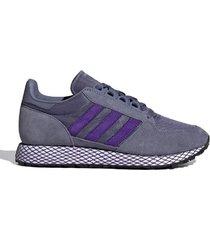 zapatilla violeta adidas forest grove