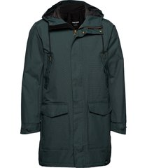 rain jkt from the sea padded m parka jas groen tretorn