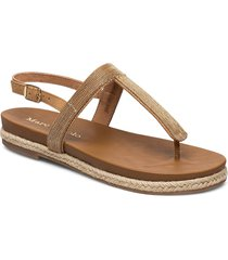 sarah 1 shoes summer shoes flat sandals brun marc o'polo footwear