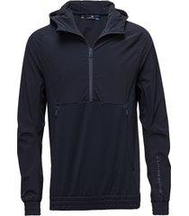 m jeff jacket tech mid hoodie trui blauw j. lindeberg
