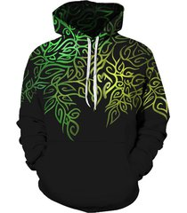 novelty printed pouch pocket hoodie