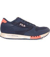 zapatilla azul fila euro jogger sport