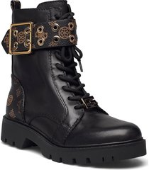 riter2 shoes boots ankle boots ankle boot - flat svart guess