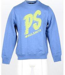 paul smith designer sweatshirts, men's sky blue sweatshirt