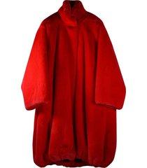 cover fake fur coat