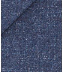 giacca da uomo su misura, vitale barberis canonico, lana lino blu scuro, primavera estate | lanieri