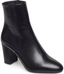 miranda high bootie shoes boots ankle boots ankle boots with heel svart filippa k