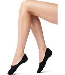 calzedonia stretch cashmere no show socks woman blue size 42-43