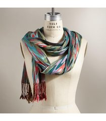 signature stripes scarf