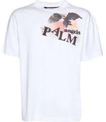 eagle logo cotton t-shirt