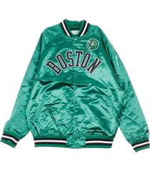 boscel nba lightweight satin bomber jacket