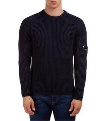 maglione maglia uomo girocollo lens