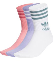 sportstrumpor mid-cut crew socks 3-pack