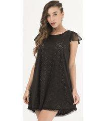 vestido negro florencia casarsa gamuzado