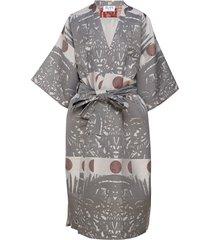 shangri dress kimonos grijs r/h studio