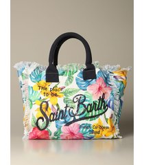 mc2 saint barth handbag vanity shopping mc2 saint barth bag in canvas with paradise print