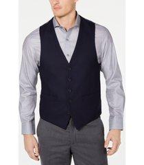 kenneth cole reaction men's ready flex slim-fit performance stretch suit vest