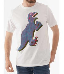 ps by paul smith dino print t-shirt - white m2r-011r-ap0925