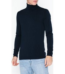tailored originals knit - morris rollneck tröjor insignia blue