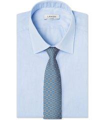 cravatta su misura, lanieri, londra beige, quattro stagioni | lanieri