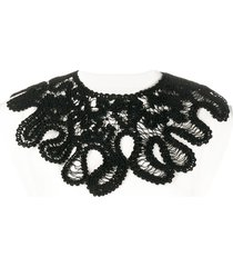 jil sander detachable knit-necklace top - white