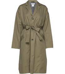 standard coat trenchcoat lange jas groen hope