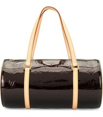 louis vuitton 2008 pre-owned vernis bedford handbag - brown
