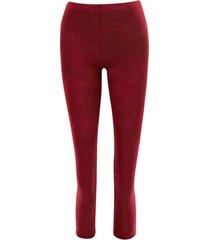 dunne pantyleggings, burgundy 40