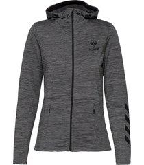 hmlselby zip hoodie hoodie trui grijs hummel