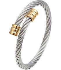 luxe titanium cuff bracelet