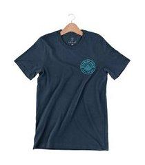 camiseta arimlap seas the day azul marin