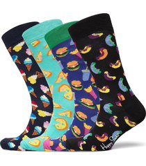 junk food gift box underwear socks regular socks multi/mönstrad happy socks