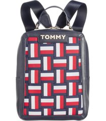 tommy hilfiger brooke woven novelty backpack