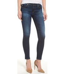 women's ag the legging ankle super skinny jeans