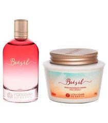 rotina fragrância e hidratação corporal brésil