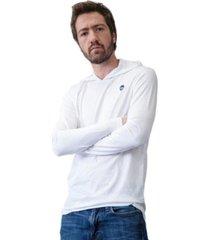 hoddie t-shirt blanco