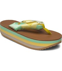 trine, 889 trine sandals shoes summer shoes flat sandals grön stine goya
