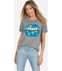 capri world peace love - heather grey l
