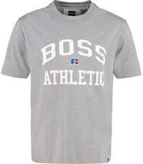 hugo boss boss x russell athletic - cotton crew-neck t-shirt