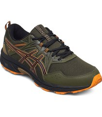 gel-venture 8 shoes sport shoes running shoes grön asics