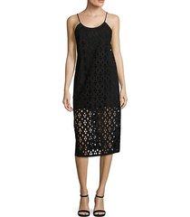 aleyda sleeveless cutout dress
