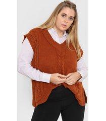 chaleco marrón vindaloo miranda lana