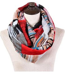 lenço & charpe estampa étnica abstrato