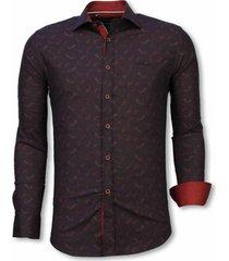 overhemd lange mouw tony backer blouse yang pattern