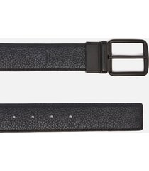 coach men's wide harness cut-to-size reversible belt - signature canvas