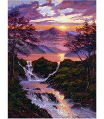 "david lloyd glover born of light canvas art - 15"" x 20"""