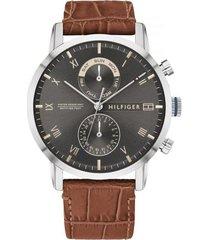 reloj tommy hilfiger 1710398 marrón -superbrands