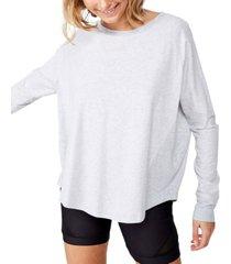 women's active rib long sleeve top