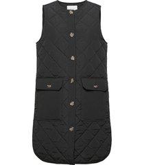 vicooli waistcoat/2 vests padded vests svart vila
