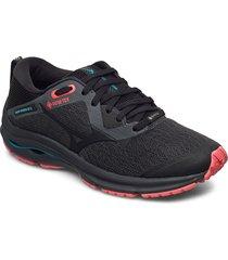 wave rider gtx 2 w shoes sport shoes running shoes grå mizuno